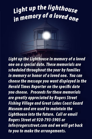 Light up the Lighthouse is memory of a loved one